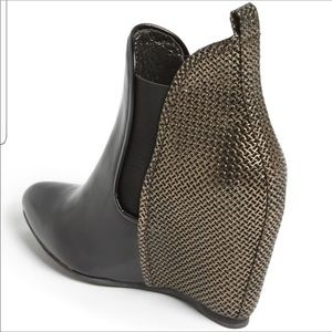 Vintage By Jeffrey Campbell Harrison Wedge Bootie